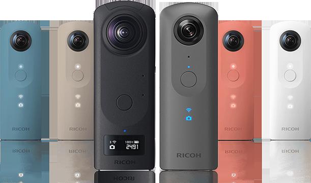 Ricoh Theta 360º cameras
